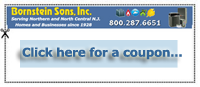 Download a Coupon towards your Heating Installation with Bornstein Sons
