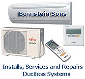 Bornstein Sons installs Mini-split and Multi-split Ductless Systems in northern and north central NJ.