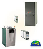 Bornstein Sons installs Trane high efficiency gas furnaces. Contact us today 1.800.287.6651
