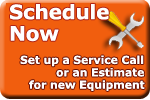 Schedule a service call or arrange for an estimate with Bornstein Sons online here!