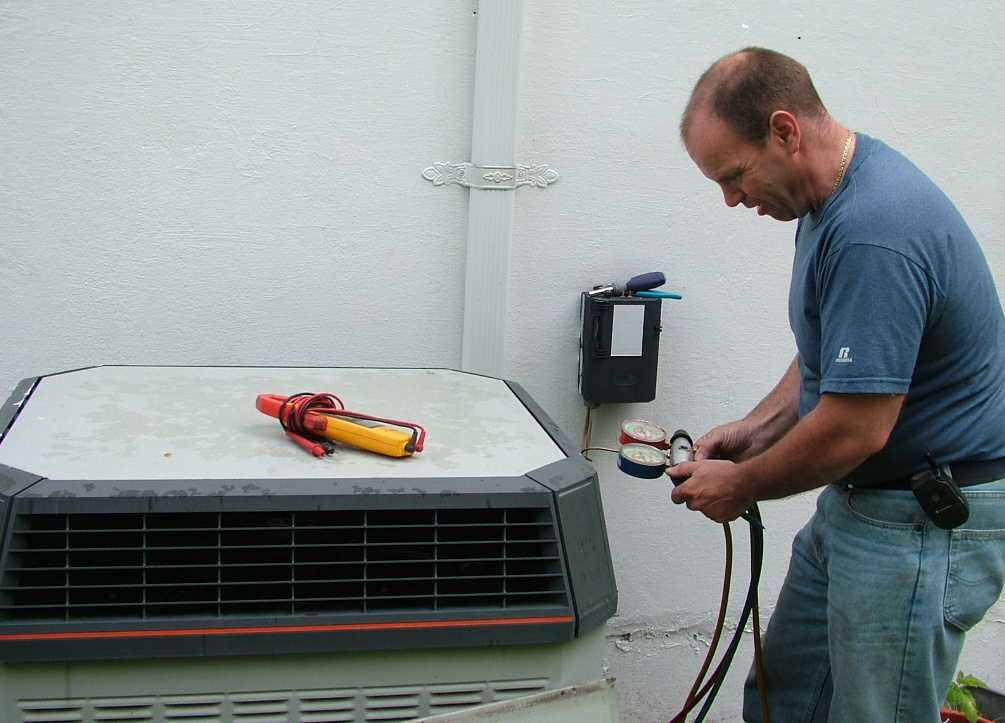 An annual AC tune up can save on costly central air conditioning repairs.