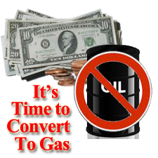 You can save money on heating if you switch to gas heat