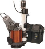 Bornstein SonsYou may need to replace your sump pump if it's old.