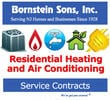 Bornstein Sons offers Residential Service Contracts for your NJ heating system