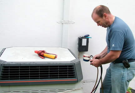 Bornstein Sons provides annual air conditioning maintenance services
