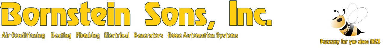 Bornstein Sons-your local air conditioning, heating, plumbing, generator and automation system contractors.