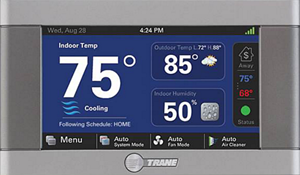 Contact Bornstein Sons about a Trane Wi-Fi Thermostat