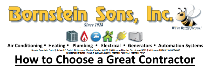Looking for a great contractor? You've found Bornstein Sons NJ